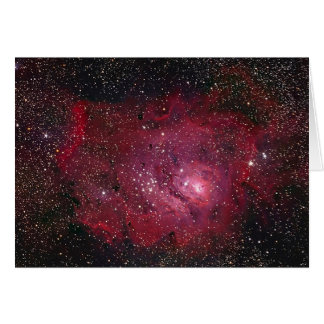 Lagoon Nebula Greeting Card