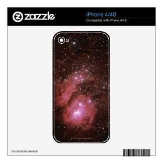 Lagoon Nebula Decal For The iPhone 4
