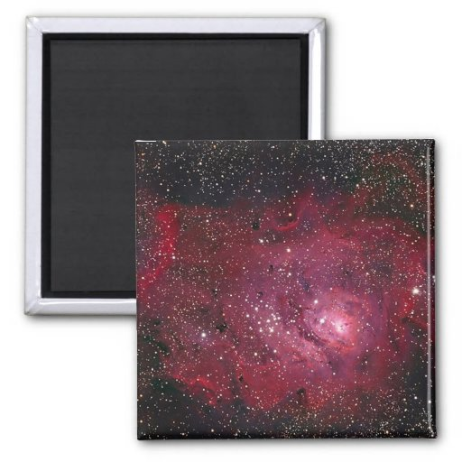 Lagoon Nebula Fridge Magnet