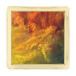 Lagoon Nebula Gold Finish Lapel Pin