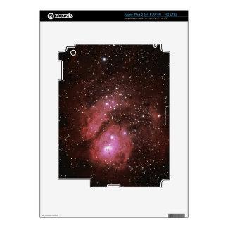 Lagoon Nebula iPad 3 Decals