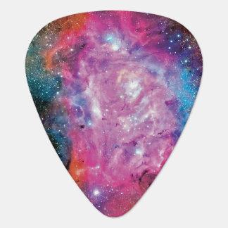 Lagoon Nebula NGC 6523 Guitar Pick