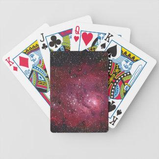 Lagoon Nebula Bicycle Poker Cards