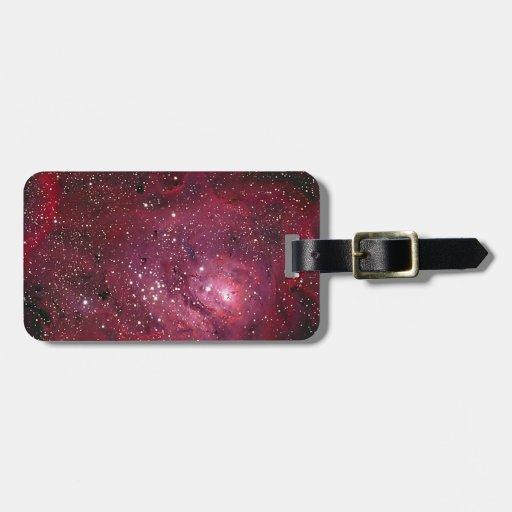 Lagoon Nebula Tags For Luggage