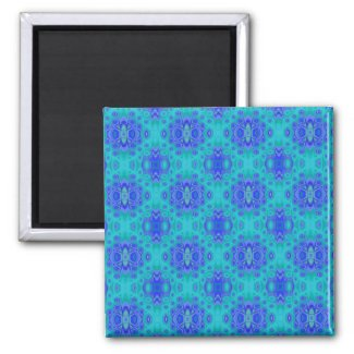 Lagoon Print Magnet magnet