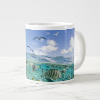 Lagoon safari trip featuring Stingrays Giant Coffee Mug