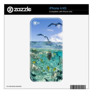 Lagoon safari trip featuring Stingrays iPhone 4S Skin