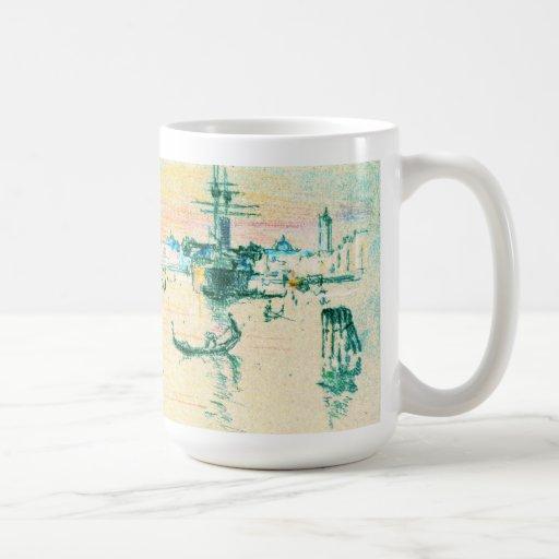 Lagoon Venice Italy 1909 Classic White Coffee Mug