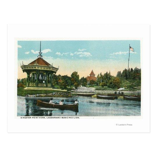 Lagoonland Music Pavilion Postcard