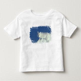 Lagopus del Alopex del zorro ártico) un zorro Playera De Bebé