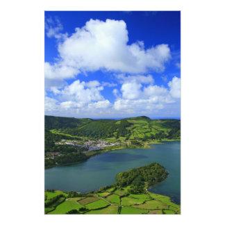 Lagos en las Azores Fotografía