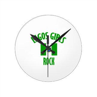 Lagos girls DESIGNS Round Clock