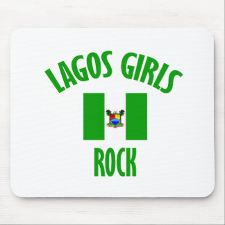 Lagos girls rock DESIGNS Mouse Pad