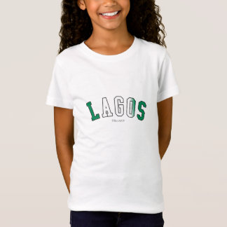 Lagos in Nigeria national flag colors T-Shirt
