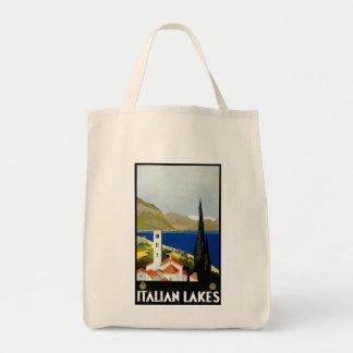 Lagos italianos bolsa tela para la compra