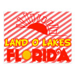 Lagos land O, la Florida Postal