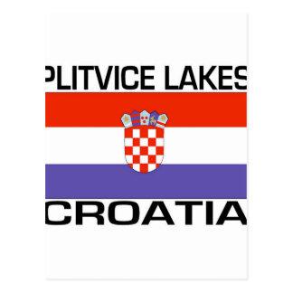 Lagos Plitvice, Croacia Tarjetas Postales