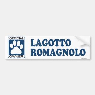 Lagotto Romagnolo Blue Bumper Stickers