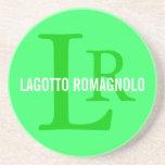 Lagotto Romagnolo Breed Monogram Coaster