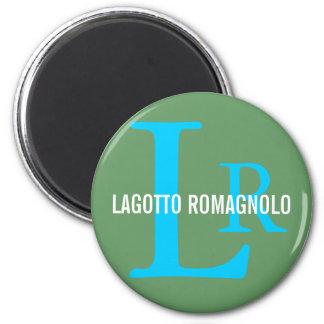 Lagotto Romagnolo Breed Monogram Fridge Magnets