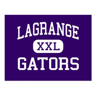 LaGrange - Gators - High - Lake Charles Louisiana Postcard