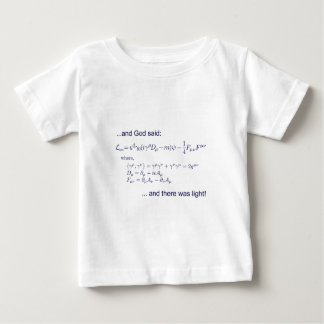 Lagrangian_QED_transp.png Baby T-Shirt