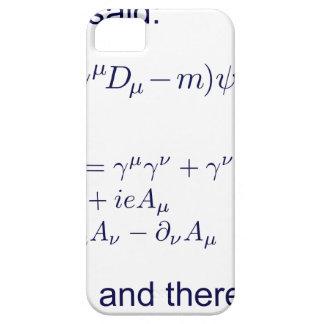 Lagrangian_QED_transp.png iPhone SE/5/5s Case