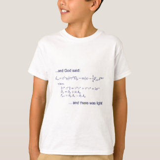 Lagrangian_QED_transp.png T-Shirt