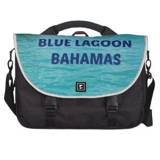 Laguna azul Bahamas Bolsas De Ordenador