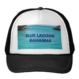Laguna azul Bahamas Gorras
