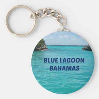 Laguna azul Bahamas Llavero