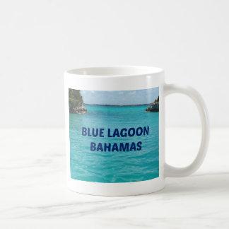 Laguna azul Bahamas Taza