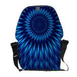 Laguna azul bolsas de mensajería