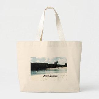 Laguna azul bolsa de mano