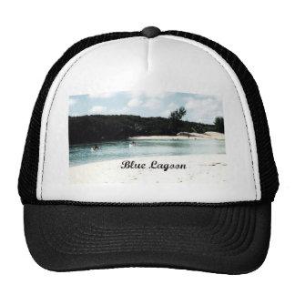 Laguna azul gorros