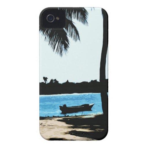 Laguna azul iPhone 4 funda