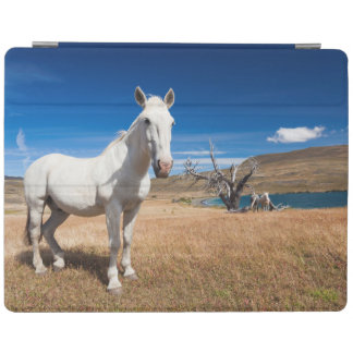 Laguna Azul, landscape with horses iPad Smart Cover