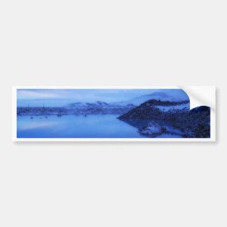 Laguna azul pegatina para auto