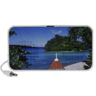 Laguna azul, puerto Antonio, Jamaica Laptop Altavoz