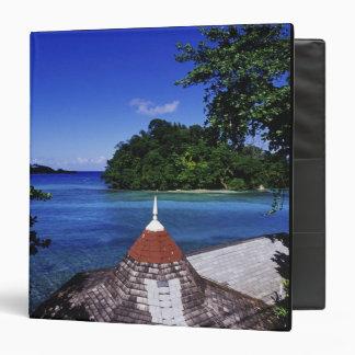 """Laguna azul, puerto Antonio, Jamaica Carpeta 1 1/2"""""""