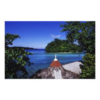 Laguna azul, puerto Antonio, Jamaica Fotografías