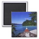 Laguna azul, puerto Antonio, Jamaica Imán De Frigorífico
