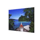 Laguna azul, puerto Antonio, Jamaica Impresiones En Lienzo Estiradas