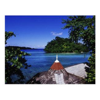 Laguna azul, puerto Antonio, Jamaica Tarjeta Postal