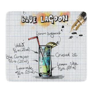 Laguna azul tablas de cortar