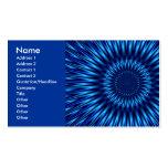 Laguna azul tarjetas de visita