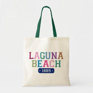 Laguna Beach 1889 Canvas Bags