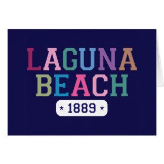 Laguna Beach 1889 Card