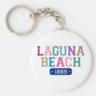 Laguna Beach 1889 Keychain