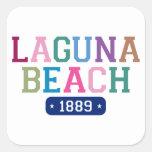 Laguna Beach 1889 Square Sticker